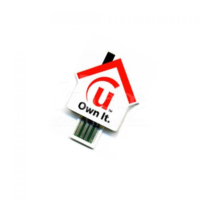 House shaped USB flash disk