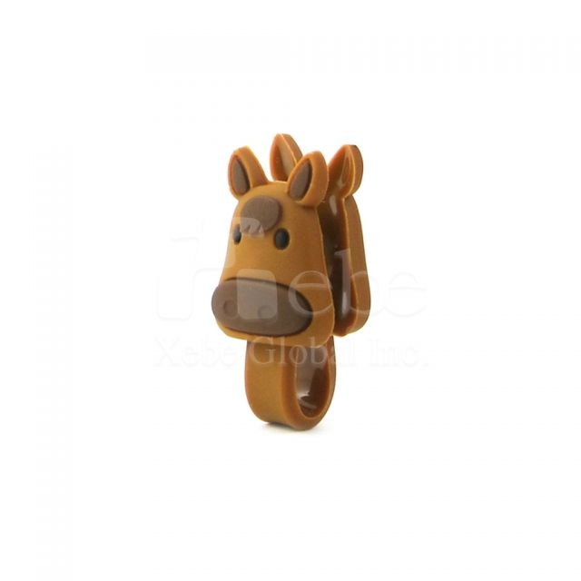 Horse earphone organizer