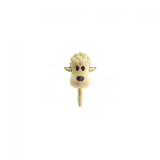 Sheep earphone jack plug