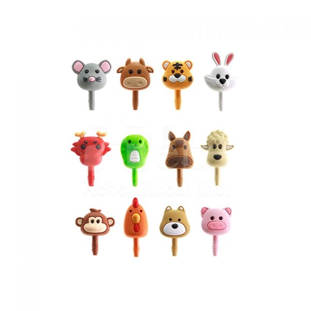 Customized gifts dog dust plug