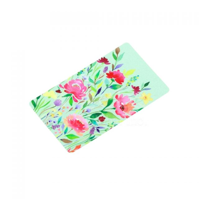 Flower pattern sticky phone cleaner
