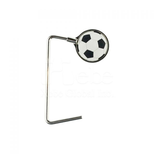 Business gifts Soccer purse hook for table