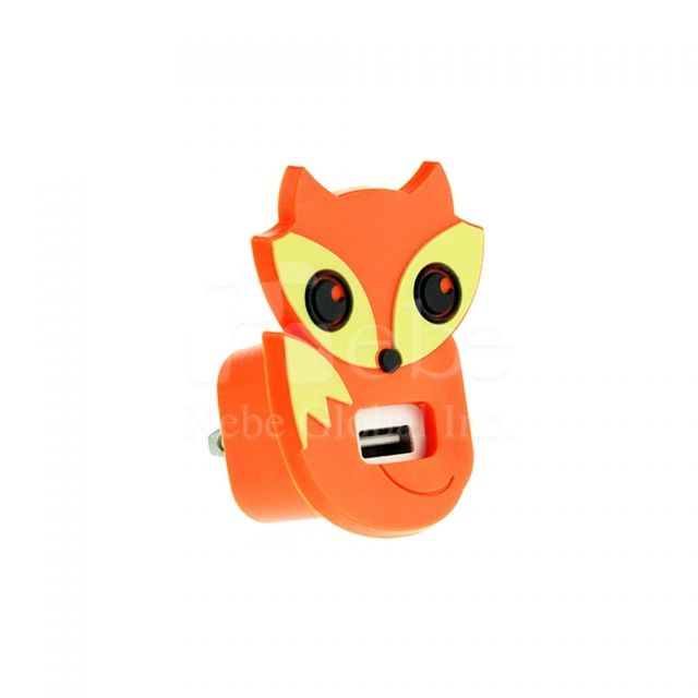 Fox usb wall charger employee gift ideas