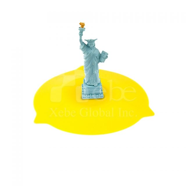 Statue of Liberty silicone cup cover lid Tourist souvenirs