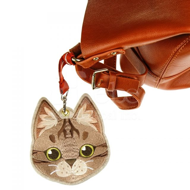 Brown cat card holder custom corporate gifts