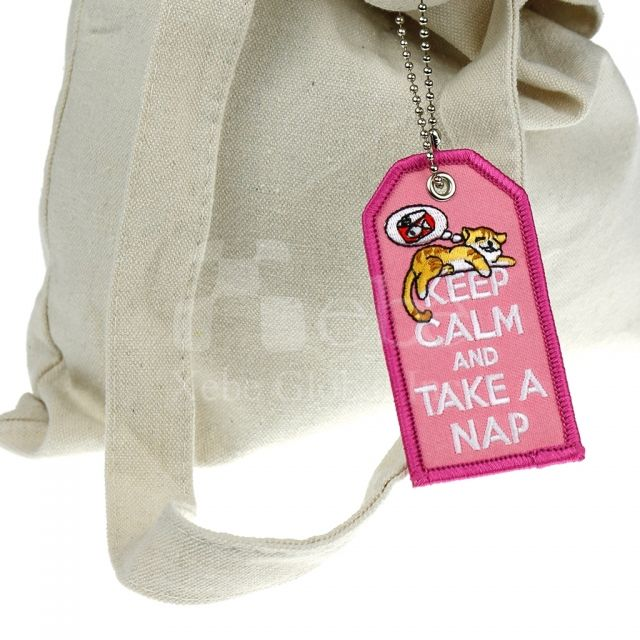 Cat luggage tags custom gifts