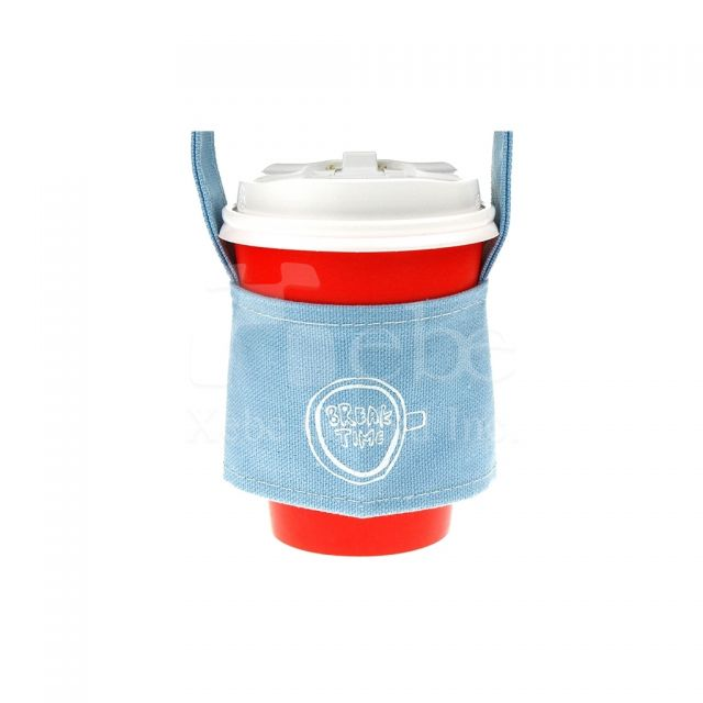Company logo custom Cup Sleeve Bag Promotional gifts idea