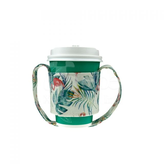 Flamingo beverage bag eco-Cup sleeve drink bag