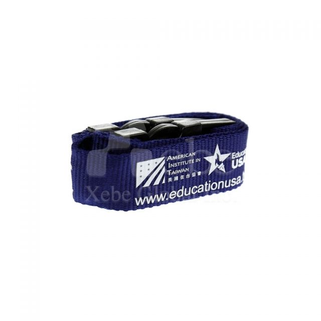Promotion activities Custom luggage straps company gifts