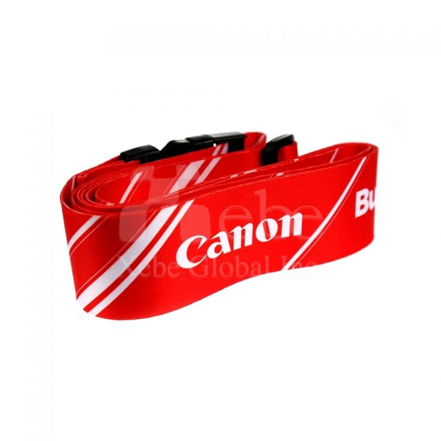 Company's logo custom luggage straps Activity gifts