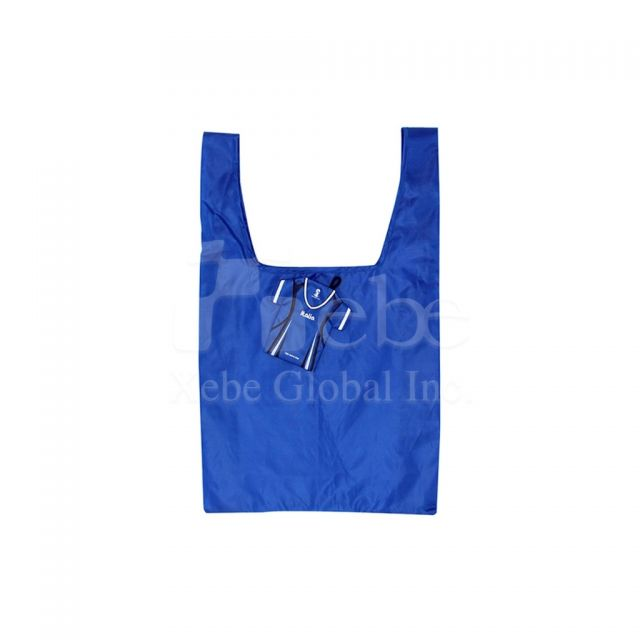 Jersey foldable reusable bags Corporate gifts idea