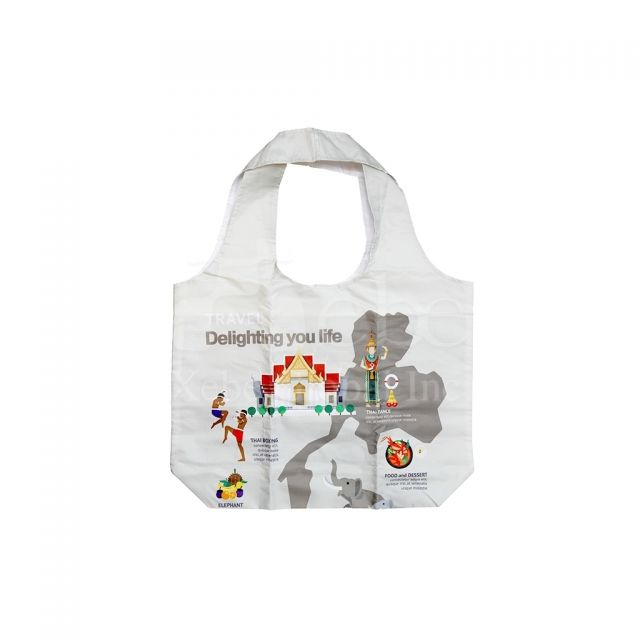 Traveling in Thailand eco shopping bag Event gift