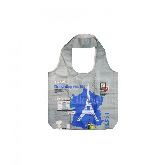 Traveling in France eco shopping bag Event gift