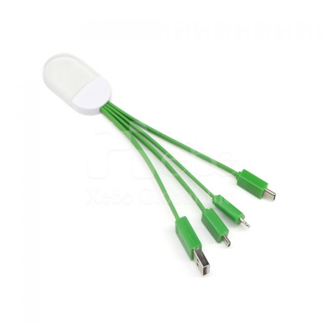 Logo lighting charging cable