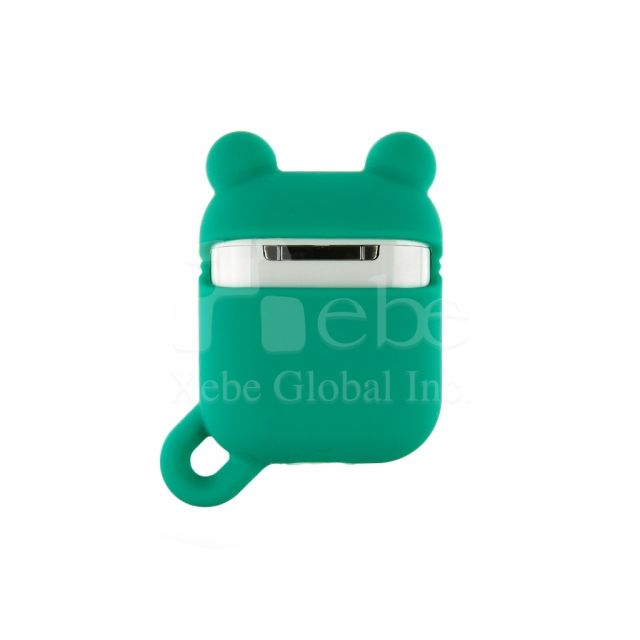 Frog shaped airpod case Custom silicone airpods case